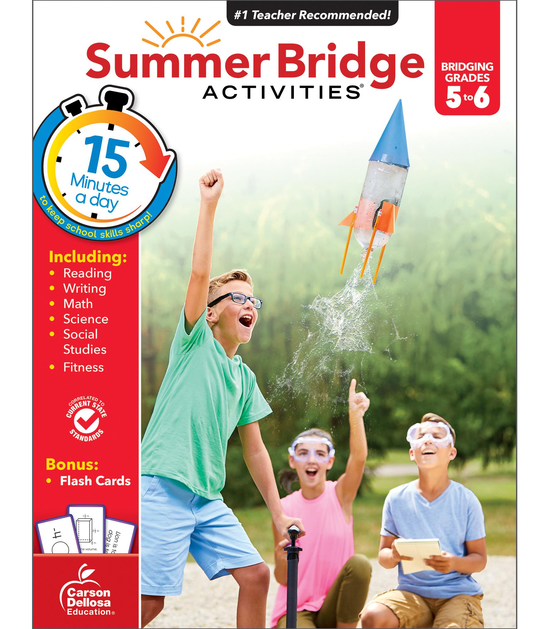 Summer Bridge Activities | Sale $9.99 | Fifth to Sixth Grade