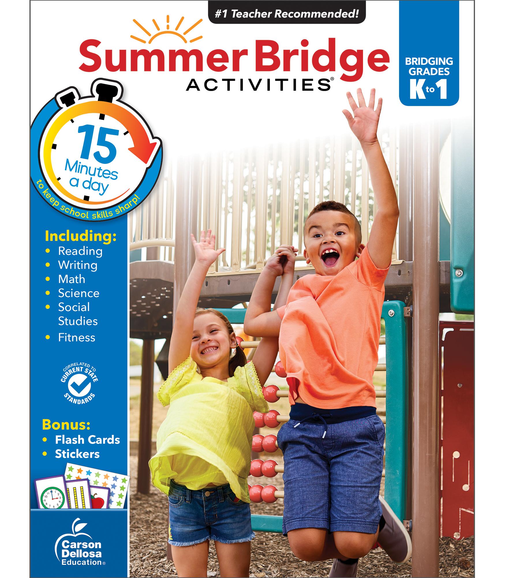 Summer Bridge Activities | Sale $9.99 | Kindergarten to ...