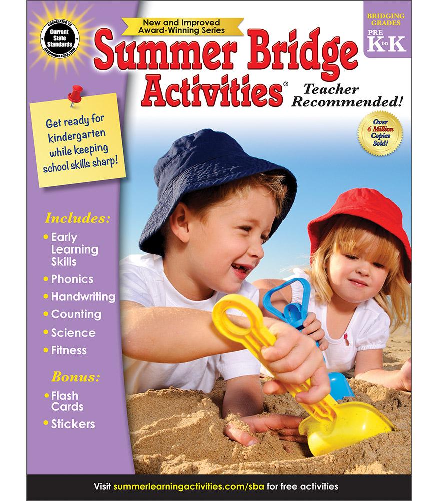 Workbooks prek workbooks : Summer Bridge Activities | Sale $9.99 | Pre-K to Kindergarten