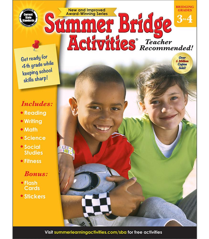 Summer Bridge Activities Sale 9 99 Third To Fourth Grade