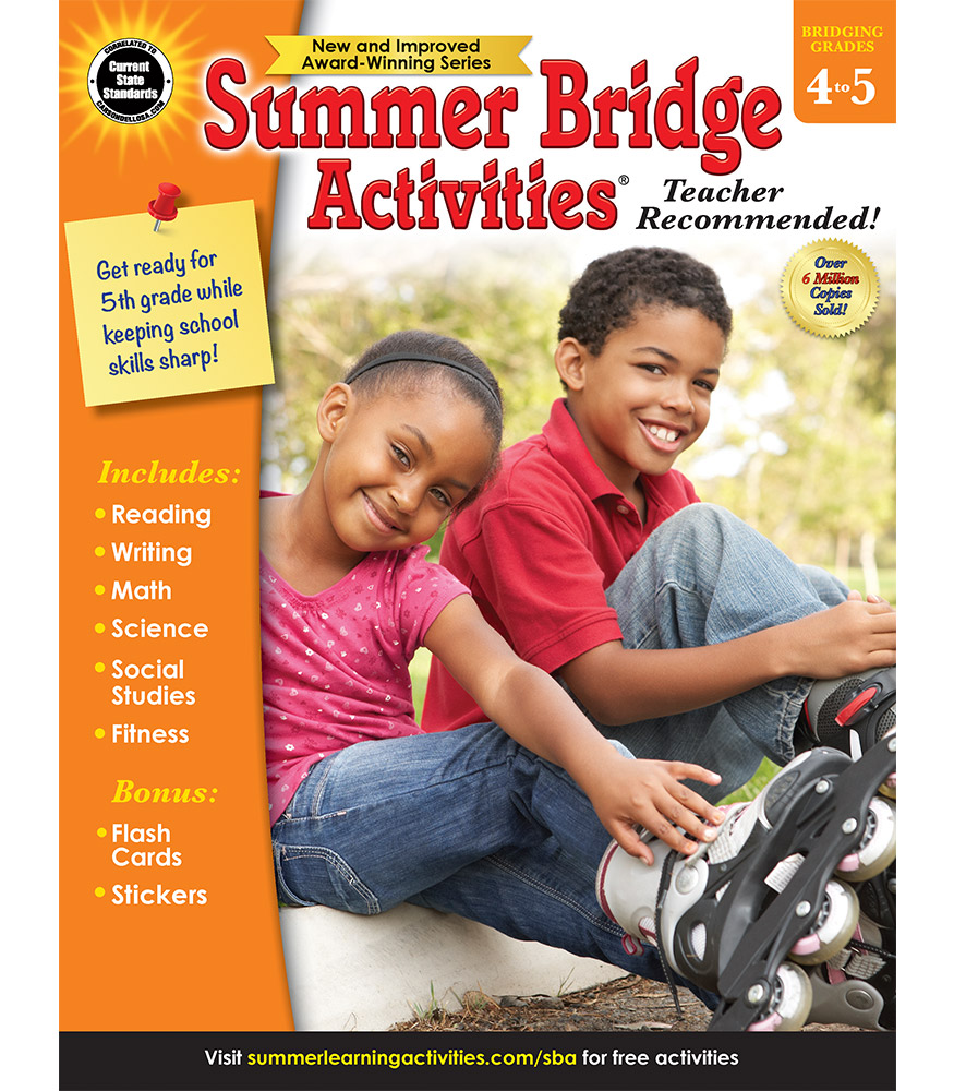Summer Bridge Activities | Sale $9.99 | Fourth to Fifth Grade