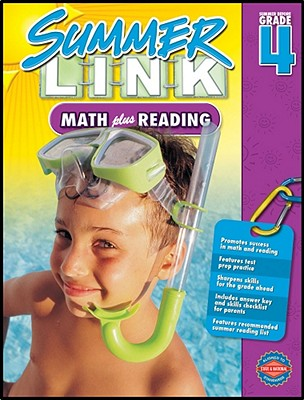 Summer Link before Fourth Grade | Math plus Reading | On Sale