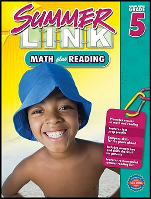 Summer Link before Fifth Grade | Math plus Reading | On Sale