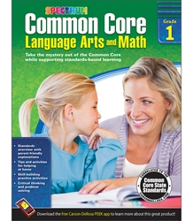 Spectrum Common Core Lang Arts & Math Grade 1