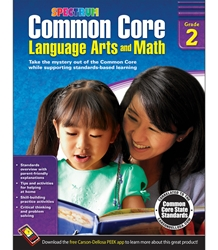 Spectrum Common Core Lang Arts & Math Grade 2