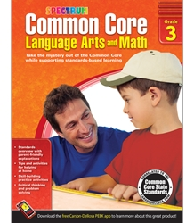 Spectrum Common Core Lang Arts & Math Grade 3