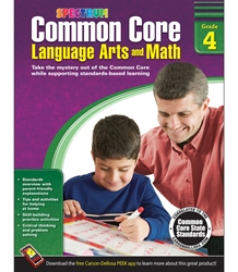 Spectrum Common Core Lang Arts & Math Grade 4