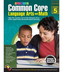 Spectrum Common Core Lang Arts & Math Grade 5