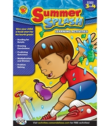 Summer Splash Grade 3-4  ** LIMITED QUANTITY - WHILE SUPPLIES LAST **