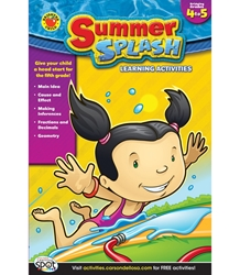 Summer Splash Grade 4-5  ** LIMITED QUANTITY - WHILE SUPPLIES LAST **