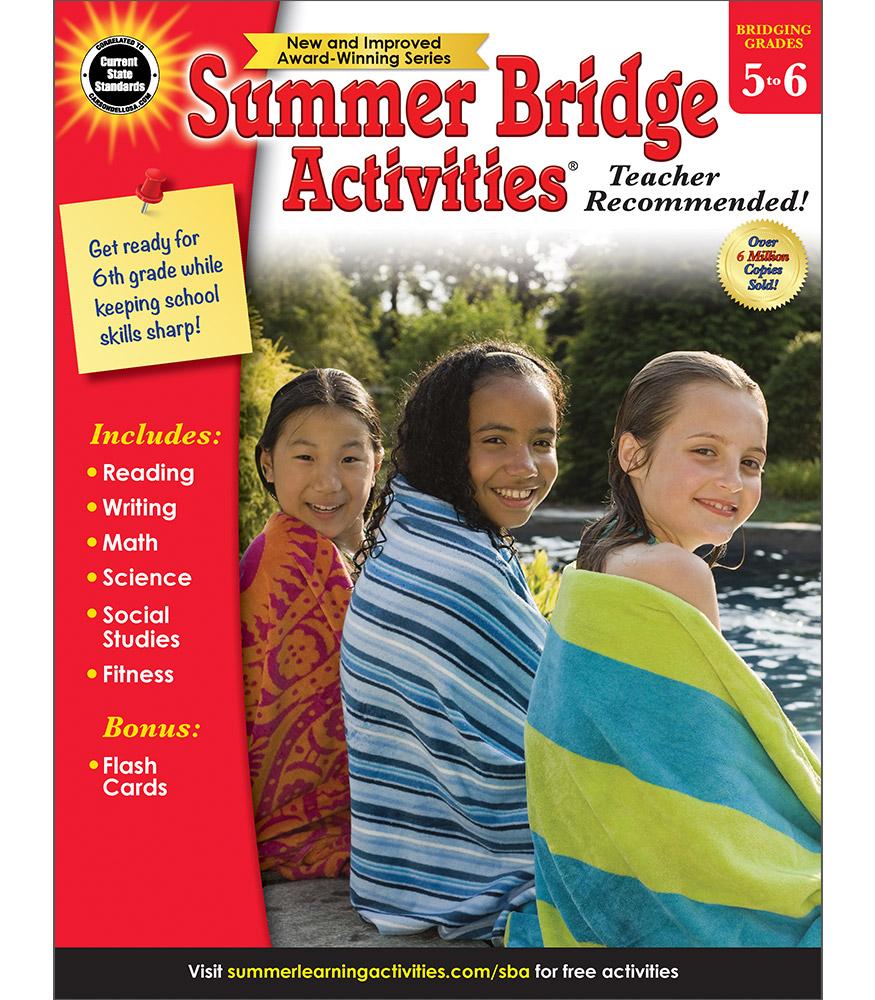 Summer bridge activities books summer bridge activities 5 6 bridging fifth to sixthsummer bridge summer bridge fandeluxe Choice Image