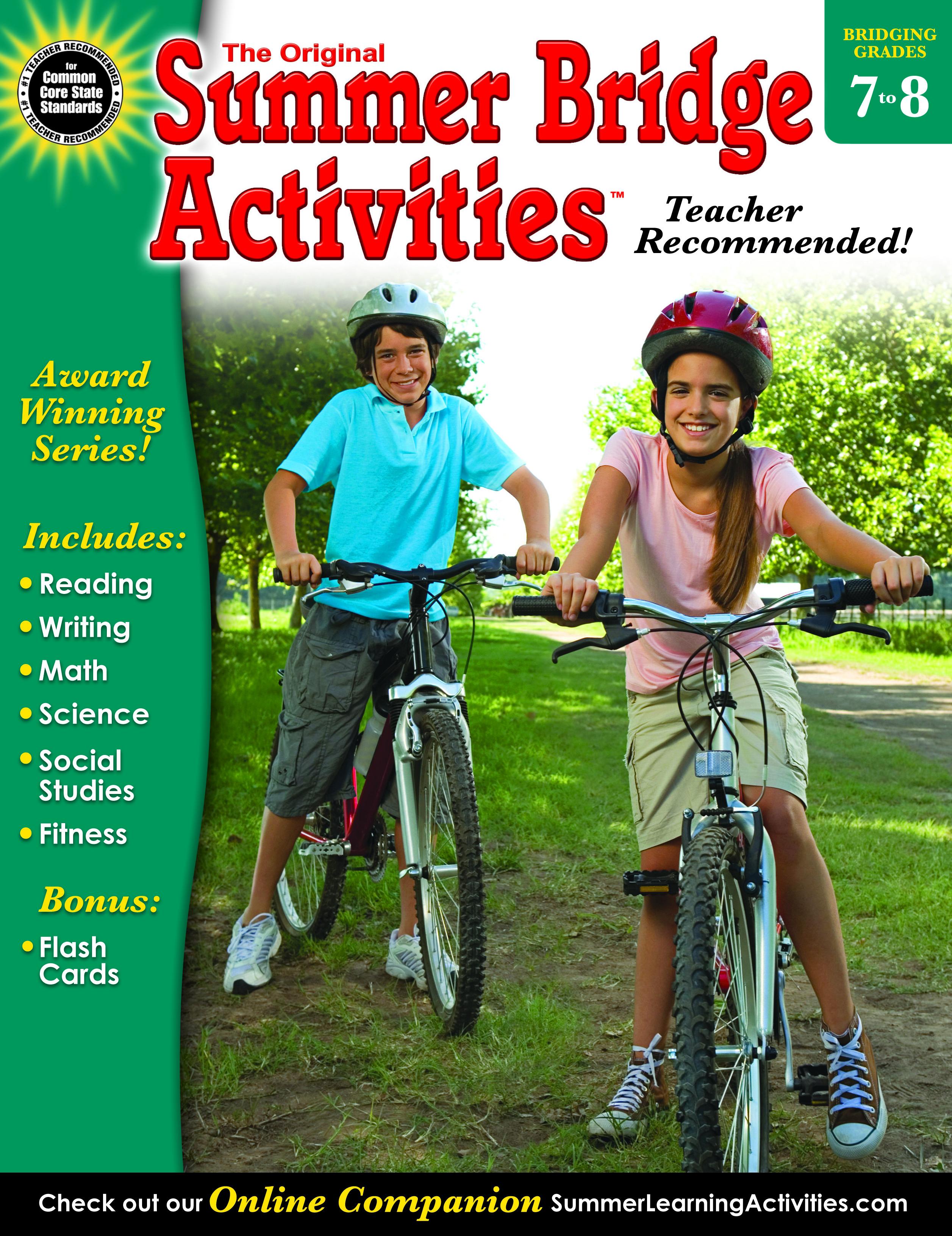 Summer Bridge Activities | Seventh to Eighth Grade