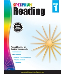 Spectrum Reading Grade 1 spectrum,reading,workbook,grade 1,common core