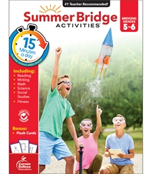 Summer Bridge Activities 5-6 Bridging fifth to sixth,Summer Bridge, summer bridge Activities, summer bridge books, summer bridge workbook,  summer workbooks, summer bridge workbooks, summer bridge activity books, summer workbook, schoodoodle, amazon, edugeeks, learning how, learning express, school, pta, pto, bulk, discount, prices,