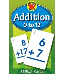 Addition 0 to 12 Flash Cards (Brighter Child)