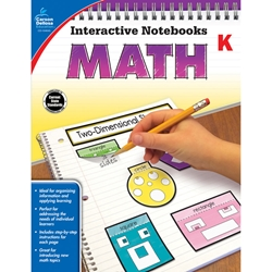 Interactive Workbooks Math, Grade K