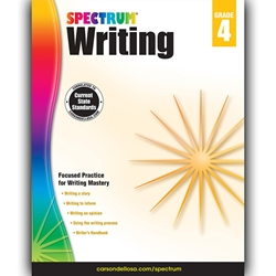 Spectrum Writing, Grade 4