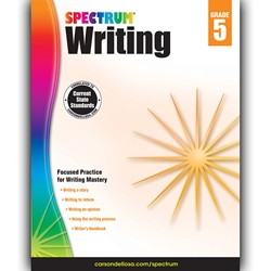Spectrum Writing, Grade 5