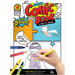Blank Comic Book: A How-To Series Level 1 (Brighter Child)